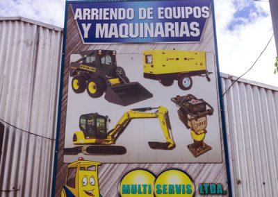 Multiservis - Arriendo de Maquinaria, Equipo y Herramientas para la industria y la construcción, en Chillán y Ñuble.